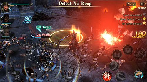เกม  Dynasty Warriors: Unleashed