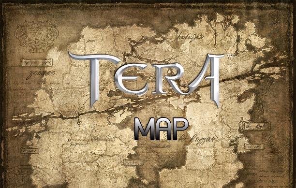TERA : ข้อมูลแผนที่
