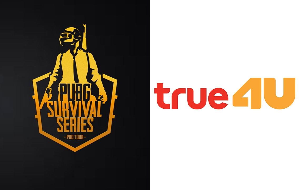 ติดตามชมไฮไลท์การแข่งขัน PUBG Survival Series SS1 บน True4U ช่อง 24