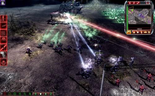 หน่วยทหาร Cyborg ของ Marked of Kane. Reaper-17