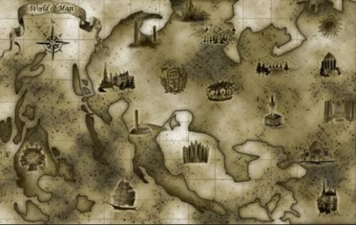 เมนูแบบ World Map (แผนที่เล็ก)
