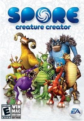 [PC] SPORE [ไทย-THAI] [MediaFire] + Crack , Key 22655_spore-creature-creator-cover