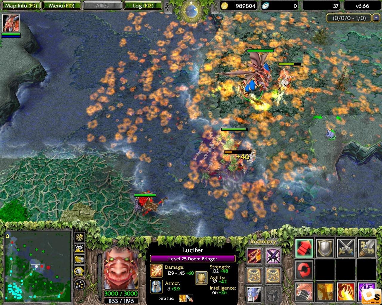 Doom Bringer Dota  Build