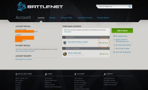 how to add a game on battle net