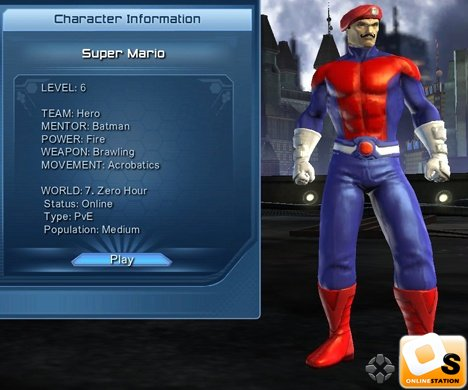 Open World Open Games DC Universe Online Character Design Your - Design your own character games