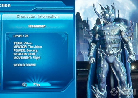 Open World Open Games  : DC Universe Online  Character