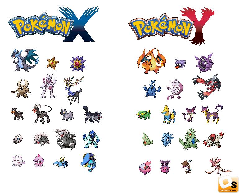 Pokemon X Y 3DS