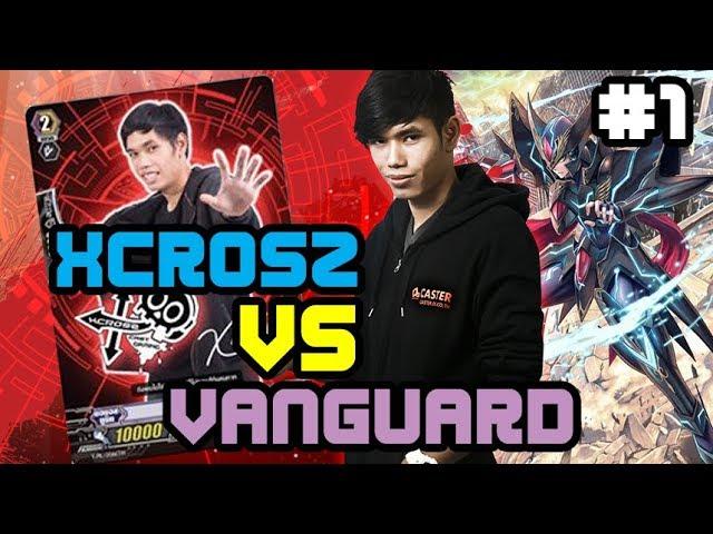 คิว Xcrosz ปะทะแชมป์ Vanguard แบบจริงจังเกมมิ่ง!!
