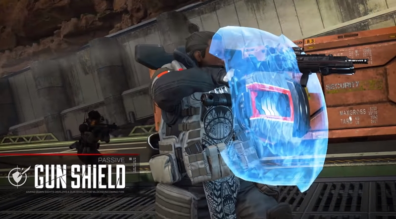 Apex Legends เทคนิค Gun Shield