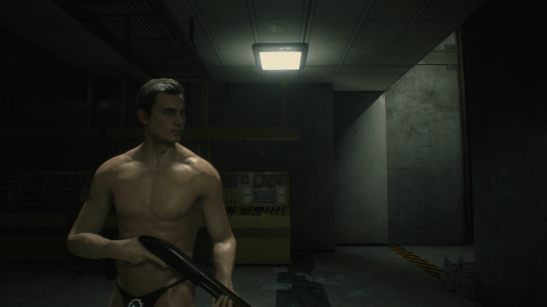 สาวกรี๊ดสลบ! พบม็อดที่เปลี่ยนลีออนจากเกม Resident Evil 2 ให้กลายเป็น