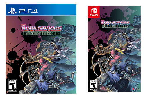Ninja Saviors Nintendo Switch