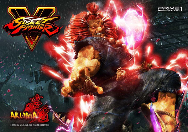 Premium Masterline – Street Fighter V Gouki 10