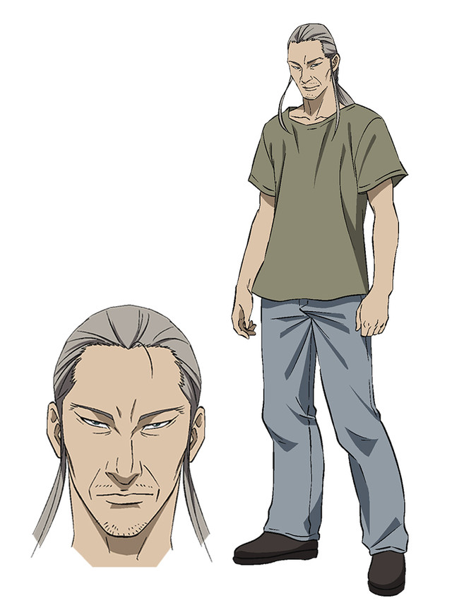 Pet อนิเมะ Hayashi (CV. Kase Yasuyuki)