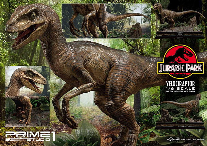 Legacy Museum Collection - Jurassic Park: Velociraptor 6