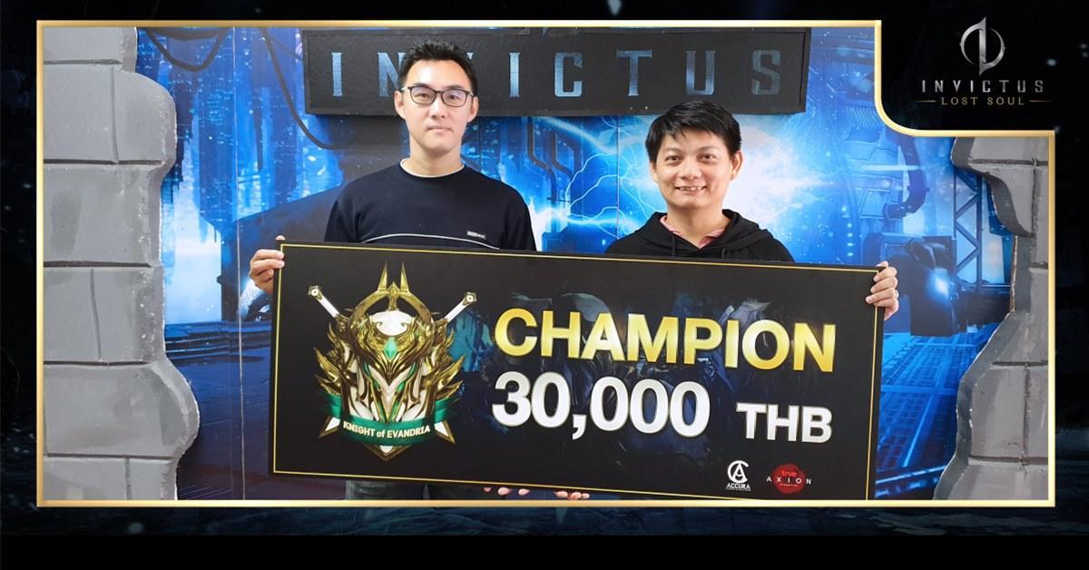 INVICTUS สัมภาษณ์ 3 ผู้ชนะศึก Knight of Evandria Tournament