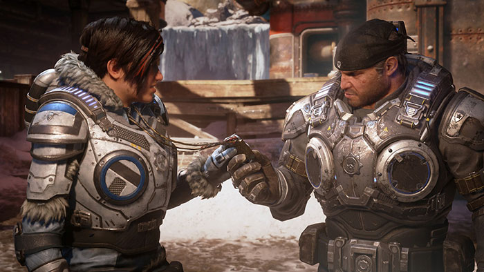Campaign story trailer Gears 5