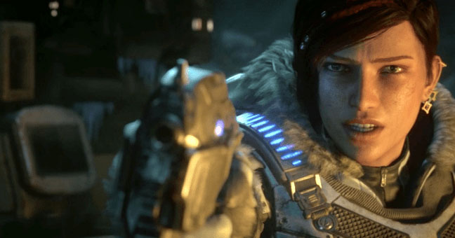 Campaign story trailer Gears 5 - 3