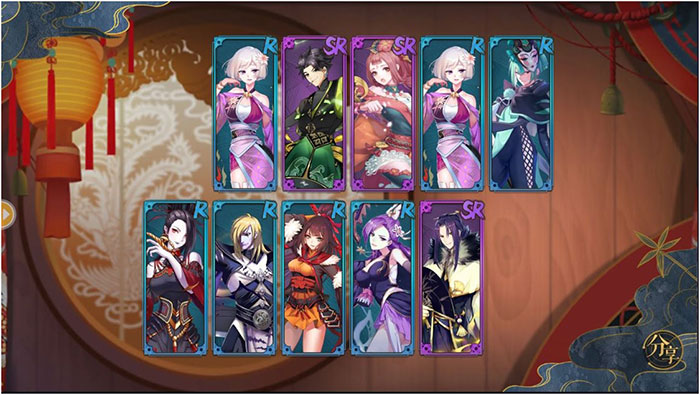 Tales of Demons and Gods ตัวละคร
