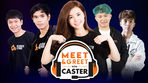 Meet & Greet with Caster