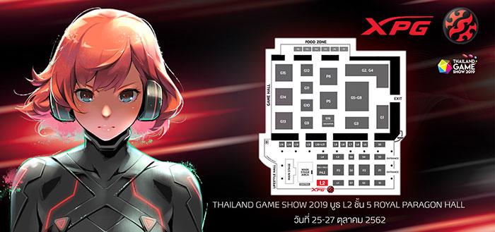 XPG Thailand Game Show 2019