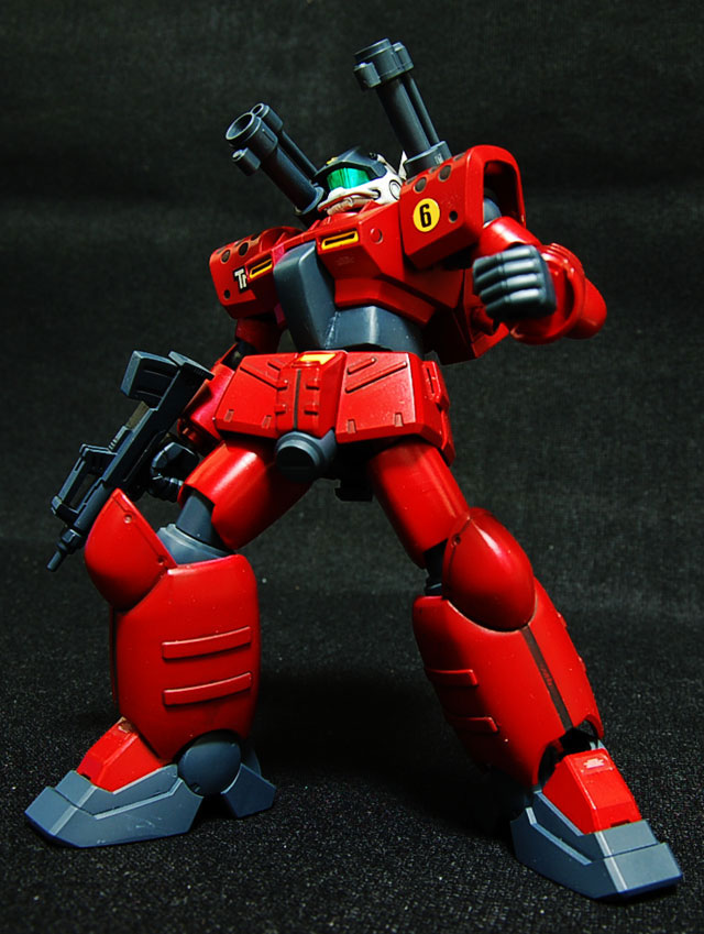 อันดับที่ 6. RX-77D Guncannon Mass Production Type หุ่นจาก Mobile Suit Gundam 0080: War in the Pocket