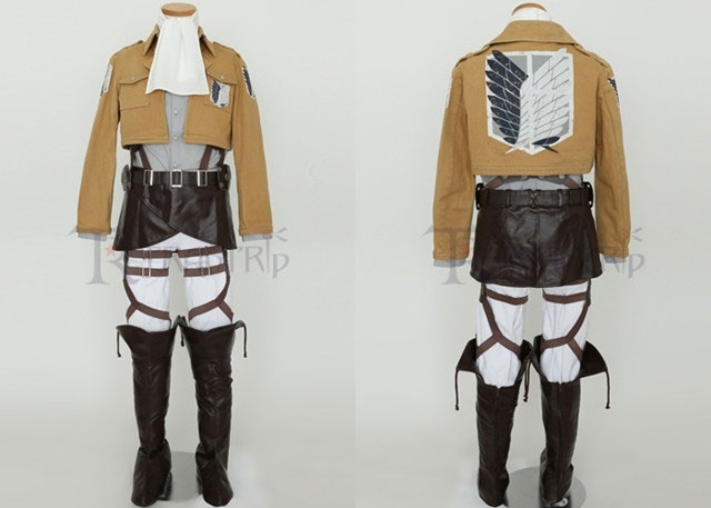 Survey Corps Costume Set Levi ver. จากเรื่อง Attack on Titan