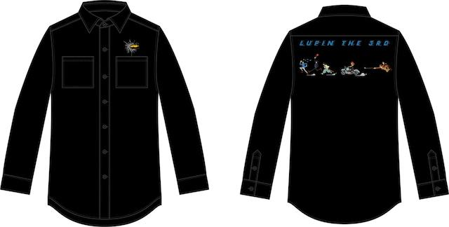 Sleeve Shirt Lupin the Third