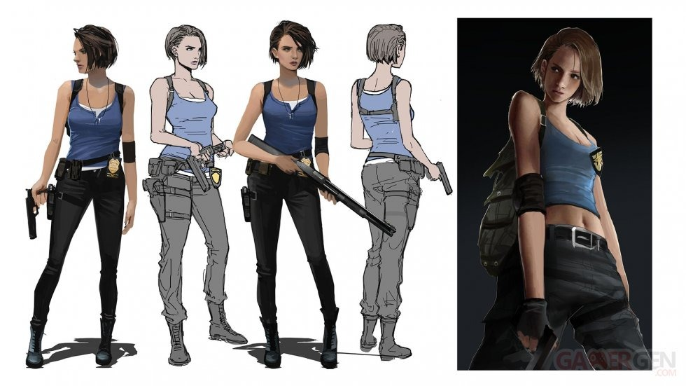 Resident Evil 3 หลุดภาพ Screenshot ชุดใหม่กว่า 30 รูป