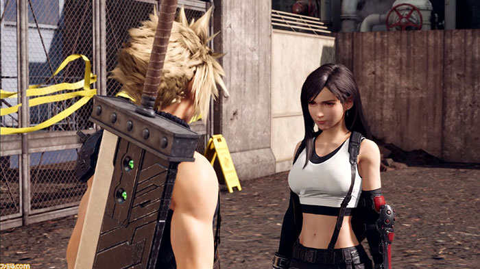 Final Fantasy VII - Setting ของ Cloud - 4