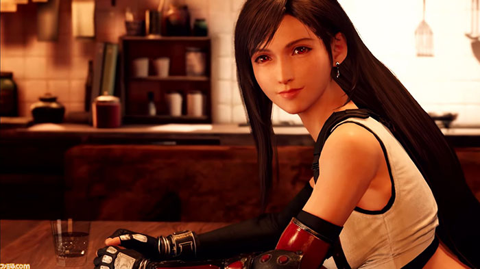 Final Fantasy - Setting ของ Tifa - 8
