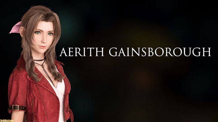 Final Fantasy VII Remake - Setting ของ Aerith - 12