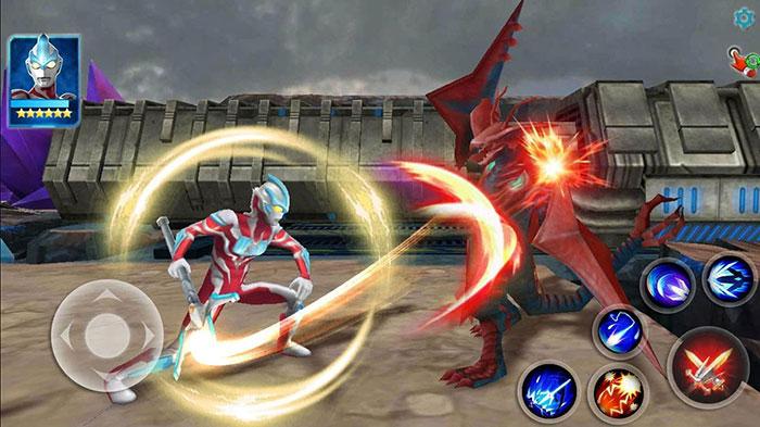 Ultraman - เกมมือถือ - ลิขสิทธิ์ - 3