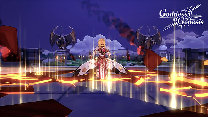 Goddess of Genesis - เกมมือถือ - CBT3