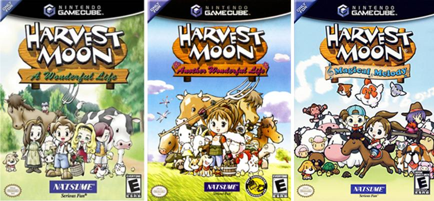 Harvest Moon Cover