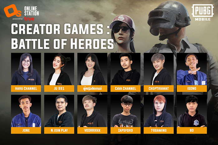 Creator Games : Battle of Heroes