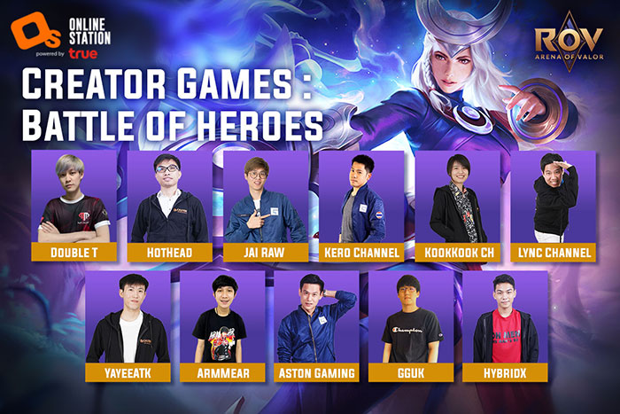 Creator Games Battle of Heroes