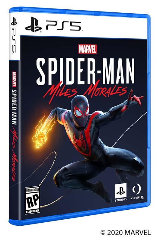 เผยแล้ว ภาพปกเกมสไปดี้ Miles Morales พร้อมโฉมกล่องเวอร์ชั่น PS5
