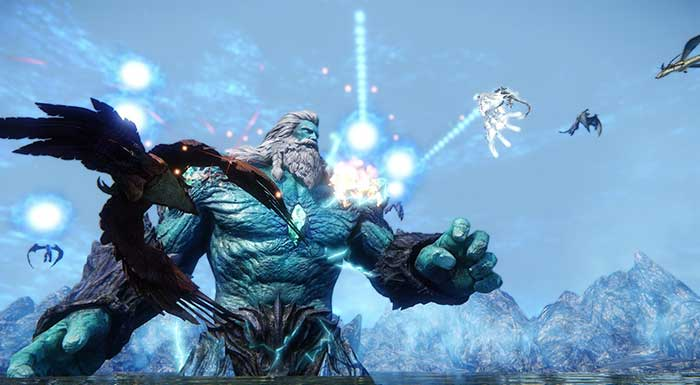 Icarus Online เกม MMORPG Open World