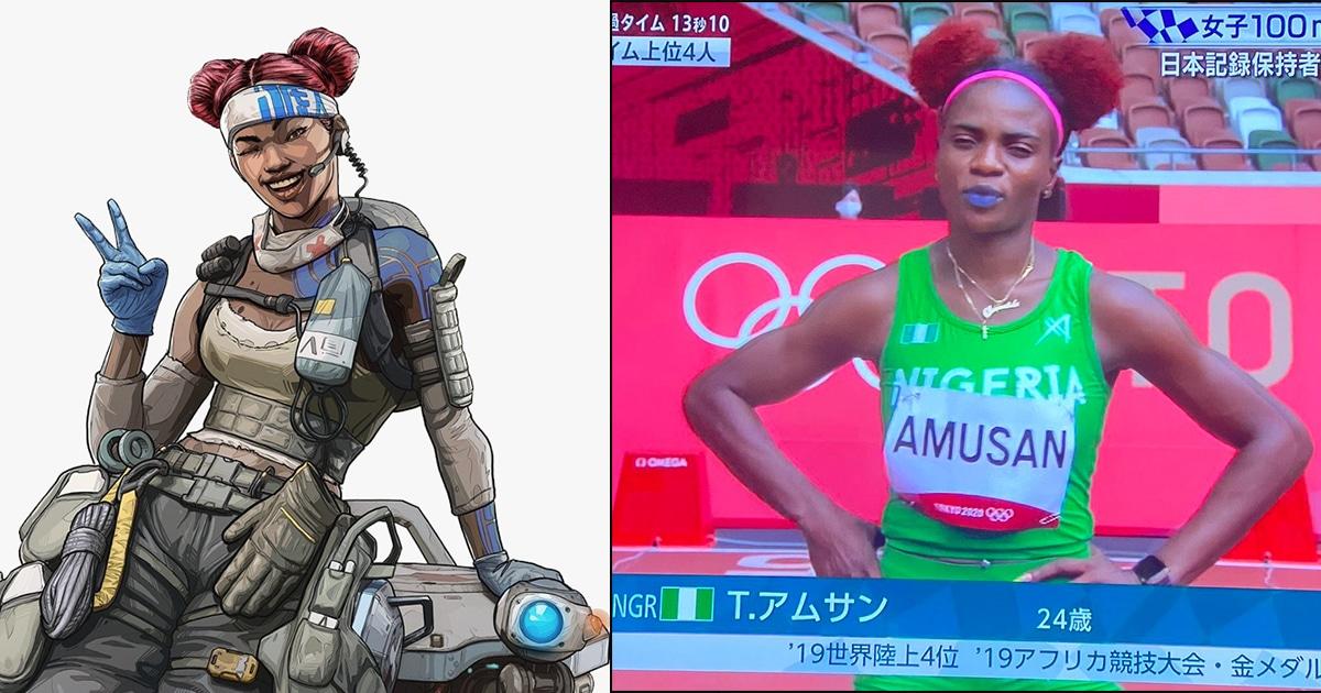 เป็นตะลึง! เมื่อ Lifeline จาก Apex Legends โผล่ในการแข่งโตเกียวโอลิมปิก 2020