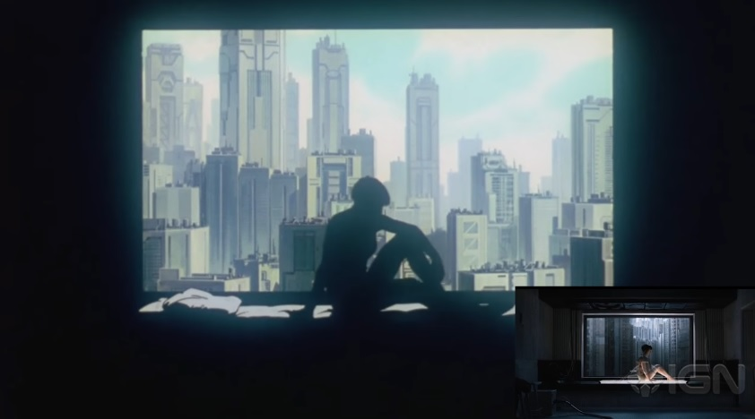 Ghost In The Shell 2017 Movie Animation 1995 Major